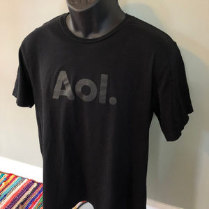 Vintage Shirts - 90s AOL America Online Shirt Dial Up Internet